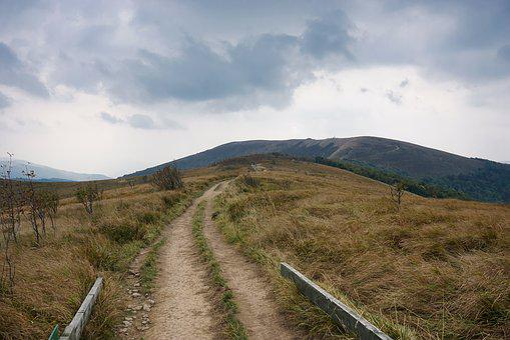 Mountains, Way, Hiking Trail, The Path, Tourism