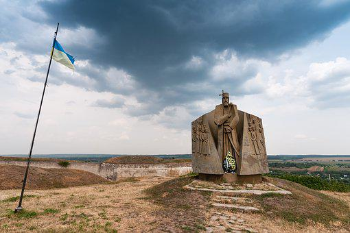 Monument, Khotyn, Chocim, хотин, Castle, Center Later