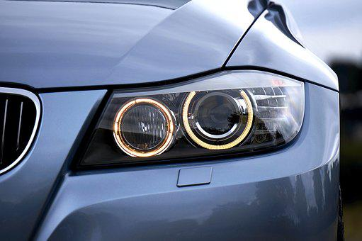 Headlight, Bmw, Auto, Automobile, Car, Luxury, Front