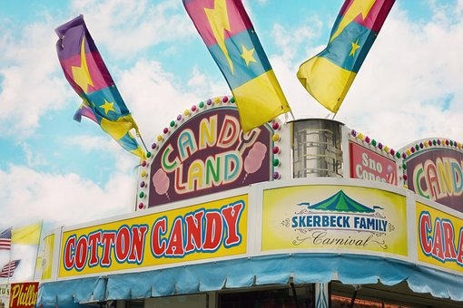 Carnival, Summer, Concession Stand, Fair, County Fair