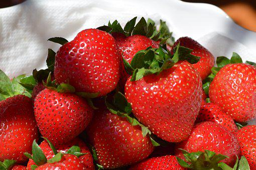 Strawberry, Strawberries, Fruit, Food, Red, Healthy