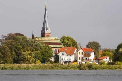 Werder, Potsdam, Church, Building, House Of Worship