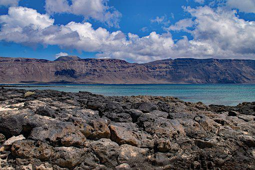 Playa Francesca, La Graciosa, Canary Islands, Spain