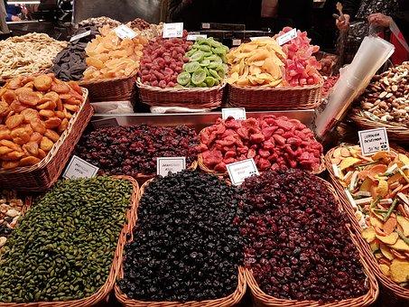Barcelona, Market Hall, Delicious, Mediterranean