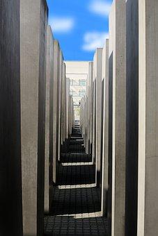 Berlin, Memorial, Monument, Holocaust Memorial