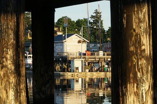 Pier, Dock, Harbor, Sea, Water, Ocean, Marina, Piling