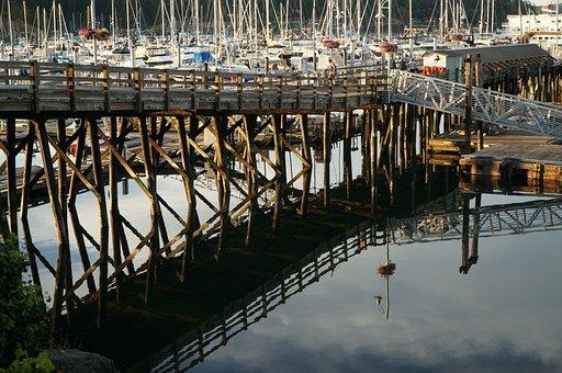 Boat, Harbour, Water, Dock, Washington State, Sea