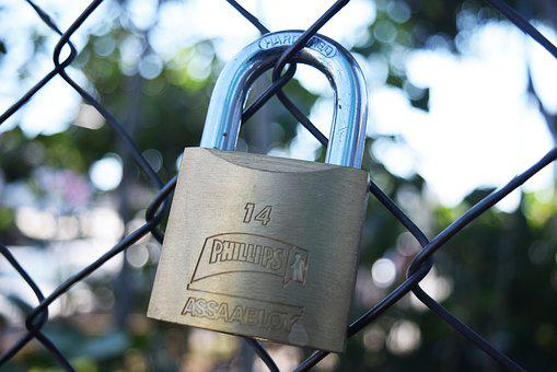 Padlock, Love, Romantic, Symbol, Heart, Key, Metal