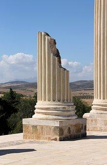 Tunisia, The Roman Empire, The Ruins Of The