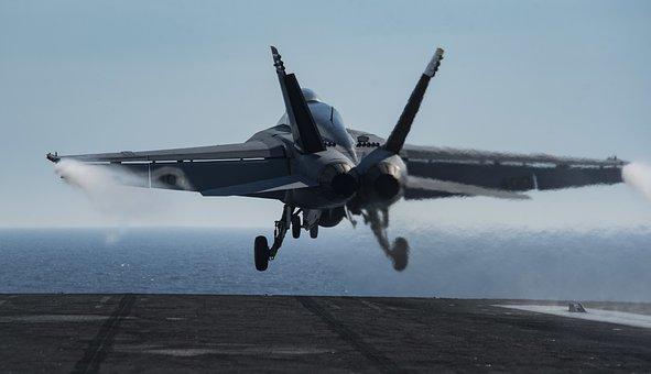 Uss Dwight D, Eisenhower, F-18, Takeoff