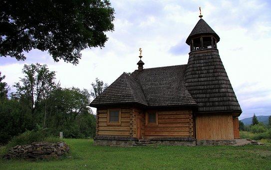 Monument, Bieszczady, Wooden Architecture