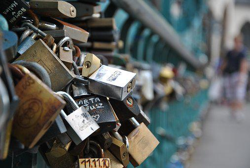 Bridge, Padlocks, Bridge Lovers, Love, Eternal Love