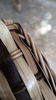 Crafts, Straw, Brown, Chair