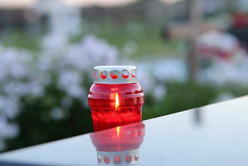 Candle, Flame, Reflection, Evening, Decoration
