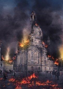 Dresden, Frauenkirche, Germany, Church, Old Town