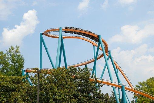 Roller Coaster, Ride, Fun, Amusement, Coaster, Park