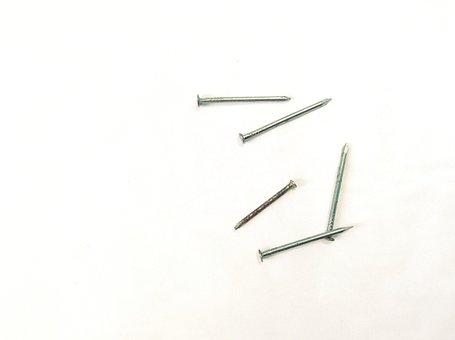 Nails, Hammer, Tool