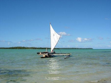 Canoe, Isle Of Pines, New Caledonia, French Territory