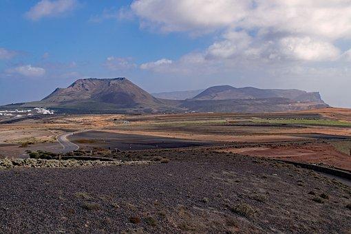 Mirador Del Rio, Lanzarote, Canary Islands, Volcano