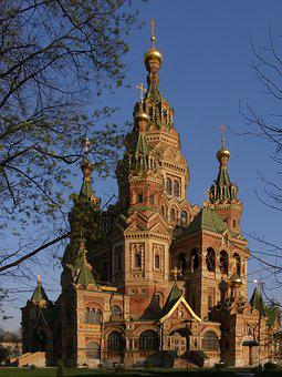 Architecture, Church, Russia, Cathedral, Christianity