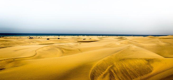 Summer, Sun, Beach, Sea, Sand, Dune, Holiday, Sky