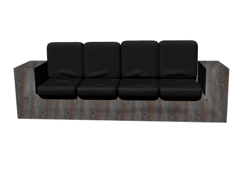 Seat, Sit, Furniture Pieces, Bank, Series, Rest, Row