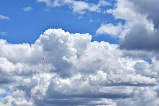 Clouds, Sky, Cloudiness, Nature, Covered Sky, Blue