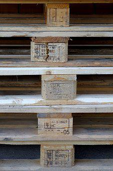 Euro Pallet, Stack, Wood, Stacked, Pallets
