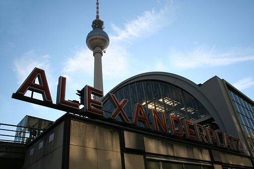 Alexander Platz, Berlin, Train Station, Romance