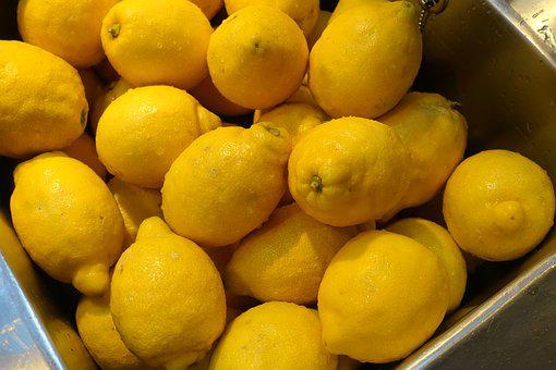 Citrus, Yellow, Fruit, Lemon, Citrus Lemon