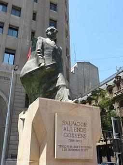 Allende, Chile, Santiago, Capital, Palace, President