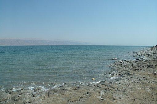 Dead Sea, Israel, Holy Land, Coastline, Nature