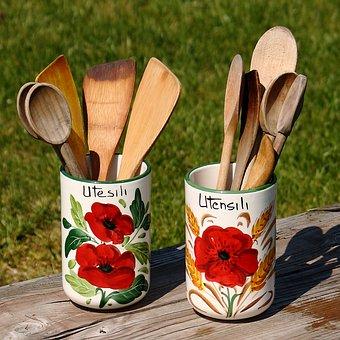 Cookware, Pasta Spoon, Happen