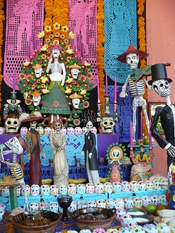Tradition, Mexico, Offering, Culture, Mexican, Typical