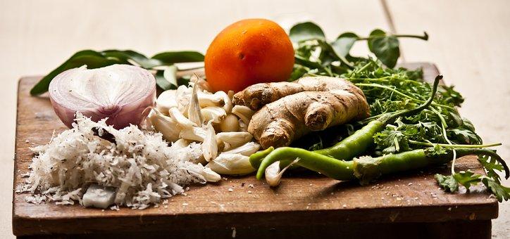 Chopping Board, Cutting Board, Vegetables, Food