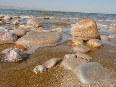 Jordan, Holiday, Travel, Middle East, Dead Sea, Salt