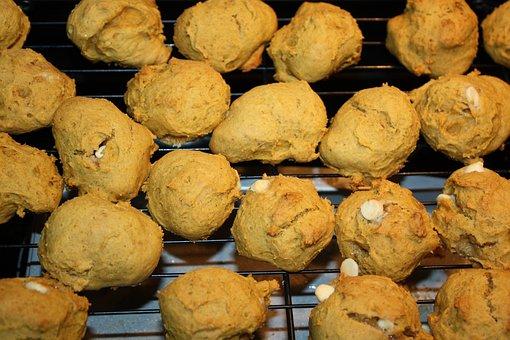 Cookie, Dough, Pumpkin, Pumpkin Spice, Homemade