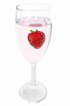 Wine, Fruit, Close-up, Strawberry, Leisure, Berry