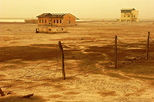 Sodom, Dead Sea, Deserted Camp, Israel, Desolate, Lost