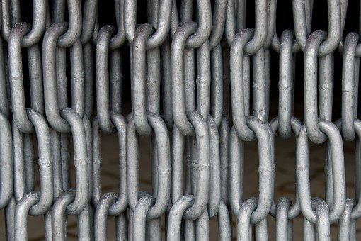 Iron Chains, Chains, Chain Link, Steel, Metal, Members