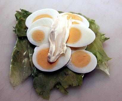 Open-faced Sandwiches, Open Sandwich, Salad, Rye Bread