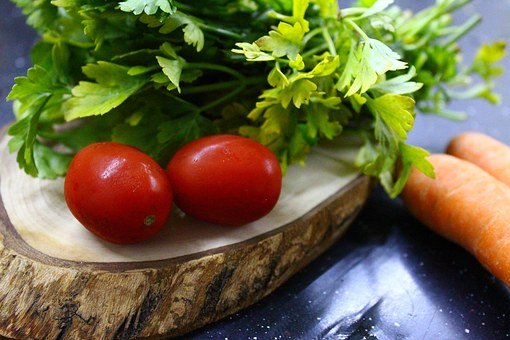 Tomato, Greens, Green, Red, Breakfast, Plant, Nature
