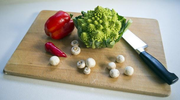 Romanesca Cauliflower, Red Pepper, Red Chile