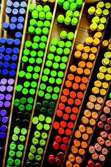 Graffiti, Spray Can, Box, Colorful, Color, Red, Green
