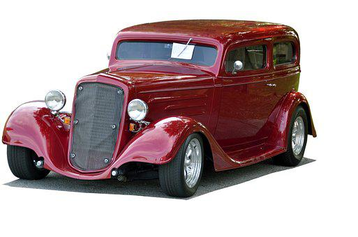 Classic Car, Vintage, Restored, Hot Rod, Shiny