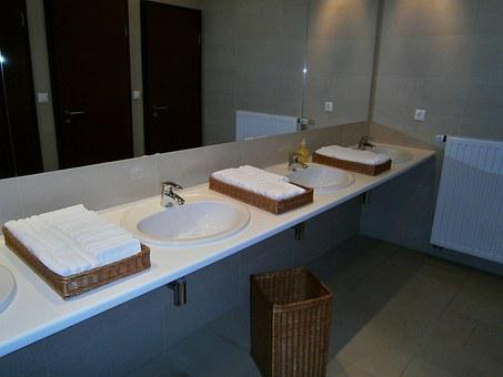 Bathroom, Hotel, Sink, Social Facilities