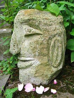 Steinkopf, Fig, Art, Sculpture, Artwork, Head, Portrait