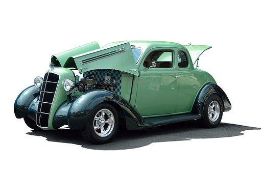 Classic Automobile, Car, Design, Vintage, Restored