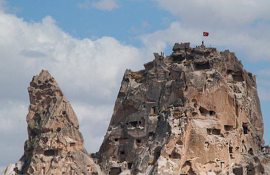 Rock, Cave, Cave Dweller, Turkey, Formation, Ancient