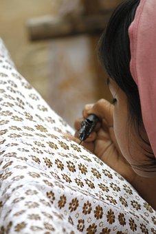 Batik, Yogyakarta, Culture, Fabric, Indonesia, Texture